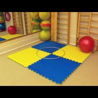 Модульные покрытия для тренажерных залов, аэробики и фитнеса