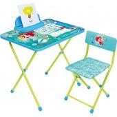 Комплект детской мебели с Русалочкой (арт. Д4РУ)