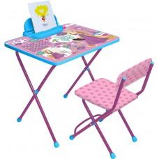 Комплект детской мебели с Рапунцель (арт. Д1Р-М)