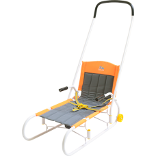 Санки Ветерок с колесом В4К